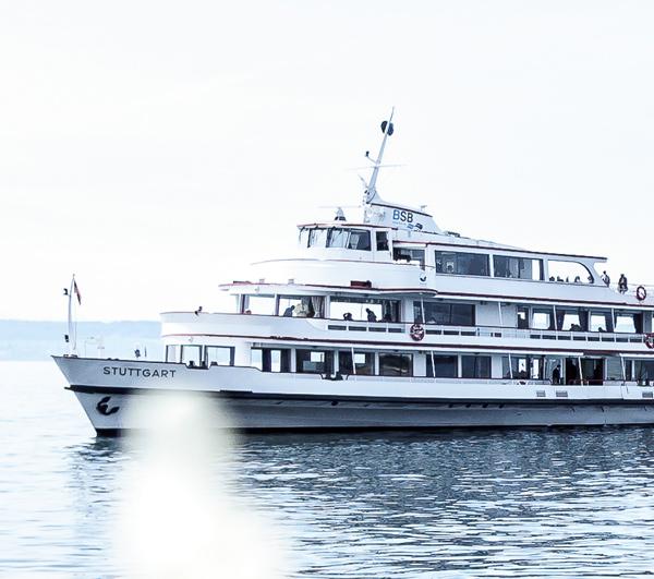Bodensee Auslug Schiff