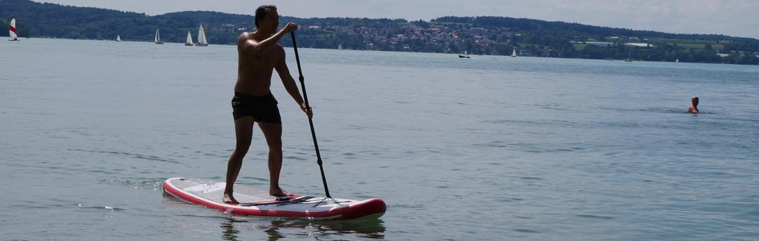 Stand Up Paddle Bodensee Ferienwohnung Hangst