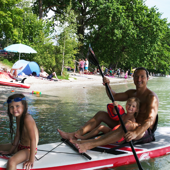 StandUp Paddle Ferienwohung Hangst
