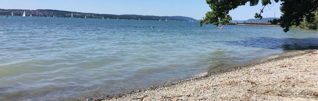 Bodensee Strandzugang