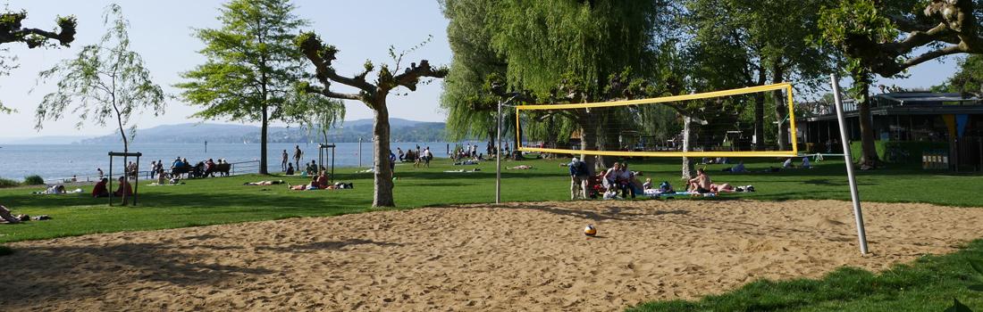 Bodensee Volleyballplatz