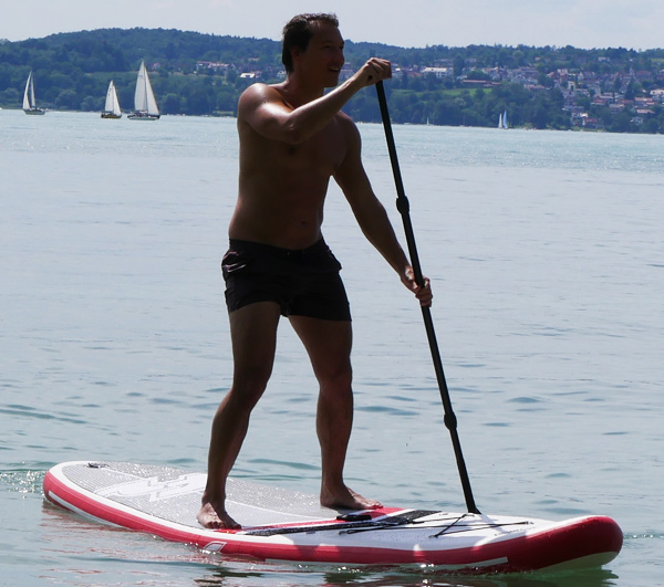 StandUp Paddle Ferienwohung Hangst