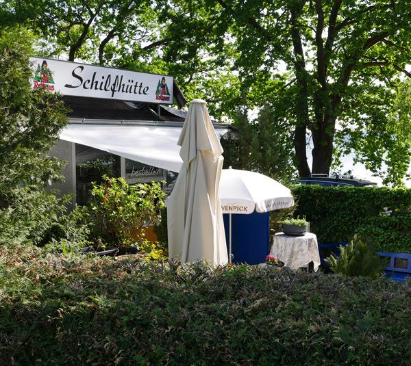 Bodensee Schilfhütte
